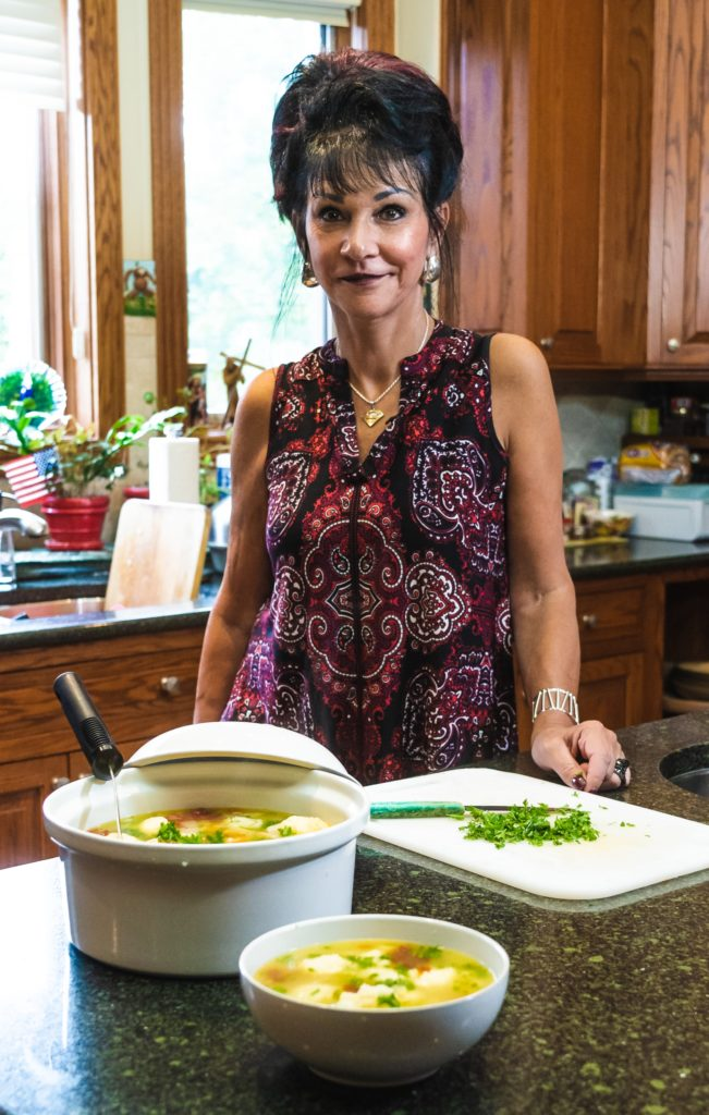Rosemarie Aquilina's chicken soup recipe