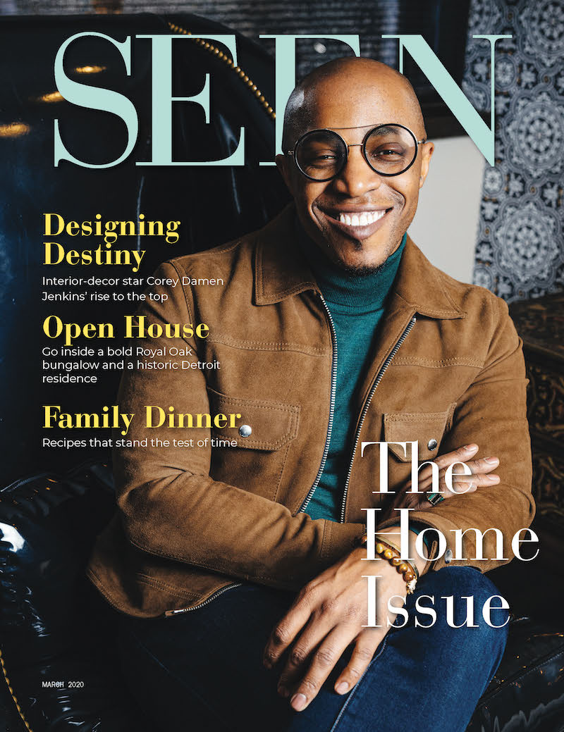 SEEN Magazine March 2020 Cover of Corey Damon Jenkins