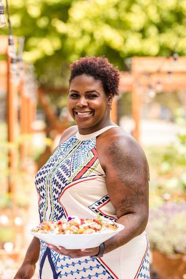 Reva Constantine-Smith, executive chef at Great Lakes Culinary Center