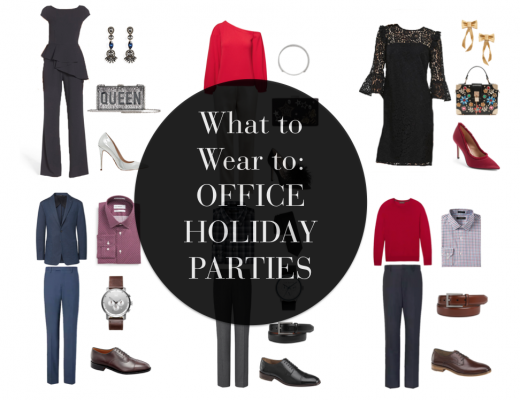 Holiday office party outfits