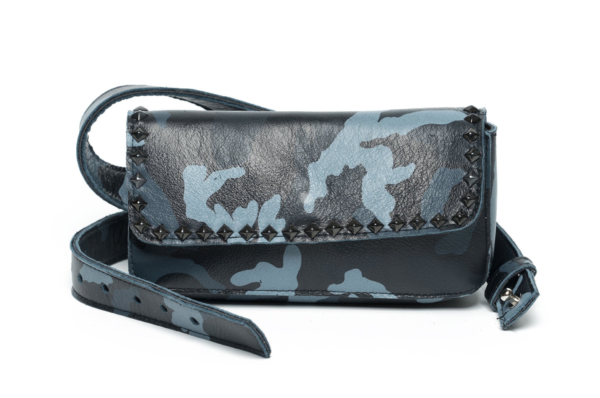 Blue Laggo Camo Belt Bag