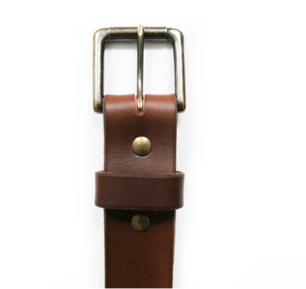 Fontenelle Supply Co Brown Leather Belt