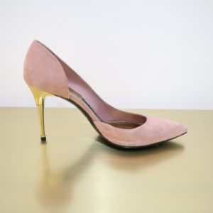 Tom Ford Pink Suede Pump