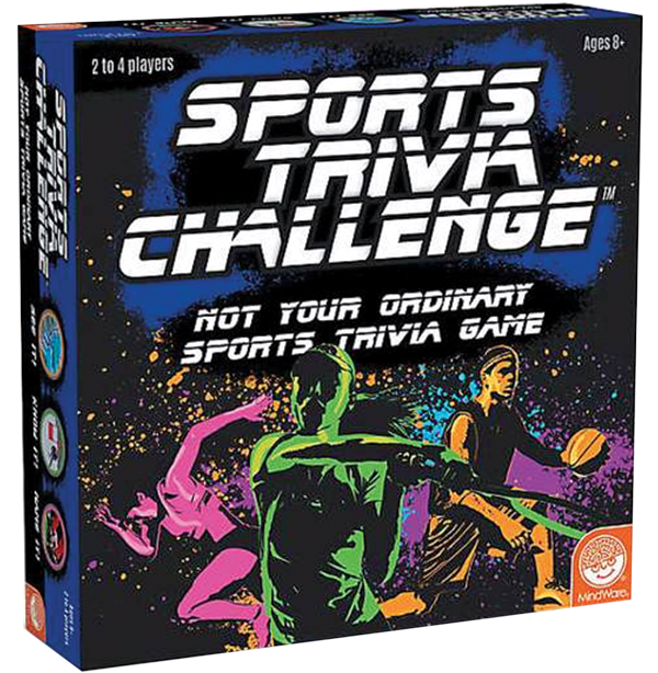 Sports trivia game from Toyology Toys