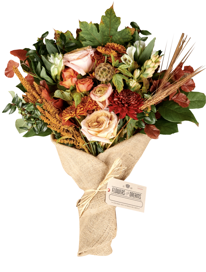 Autumn bouquet, $55, Flowers for Dreams