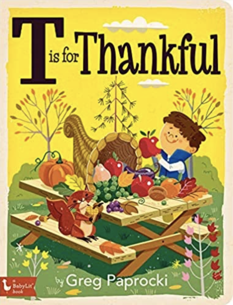T is for Thankful children's book, $10, Found Objects