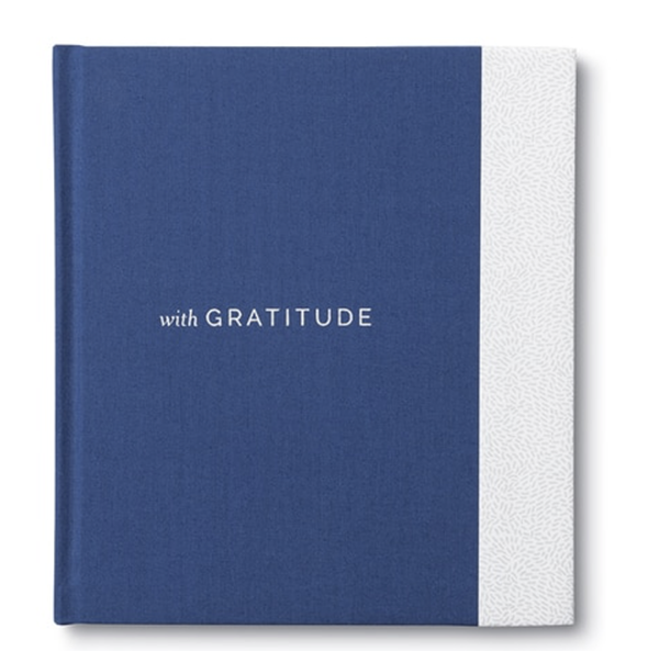 With Gratitude book, $14, Talulah Belle