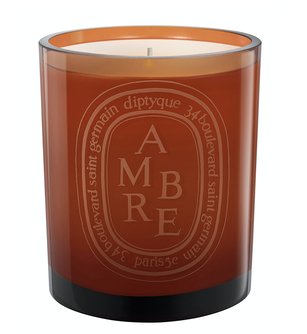 Amber scented candle, $98, Neiman Marcus Troy