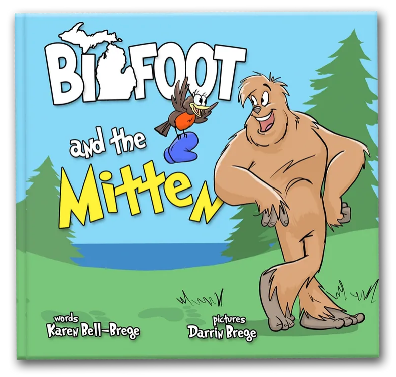 Bigfoot and the Mitten