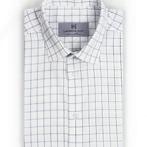 """Trumbull""- Gray Windowpane: No Sweat"