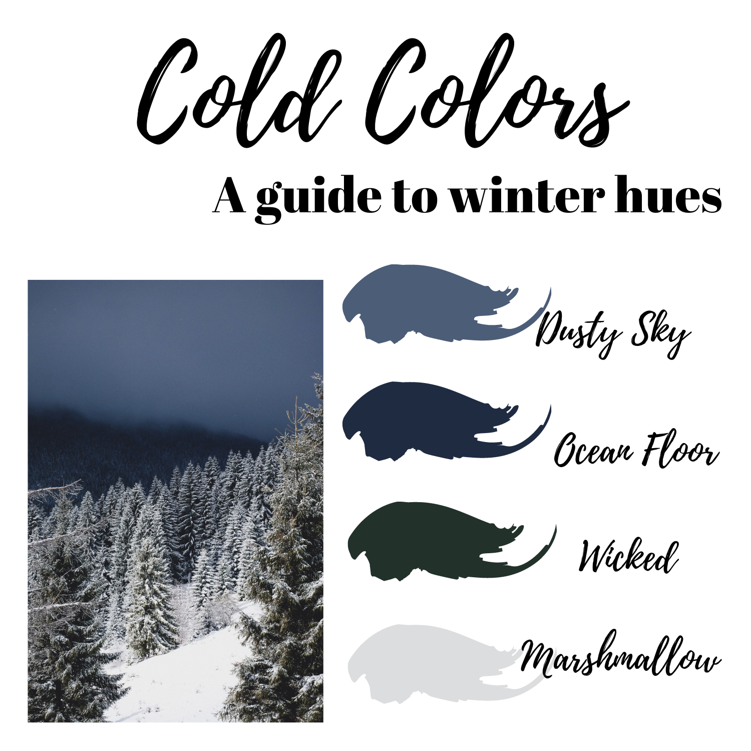 cold colors