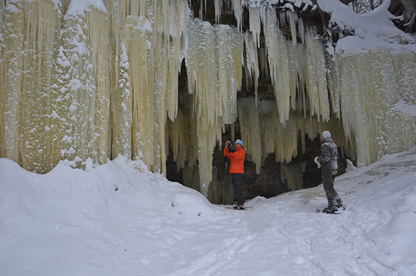 The Eben Ice Caves near Marquette.