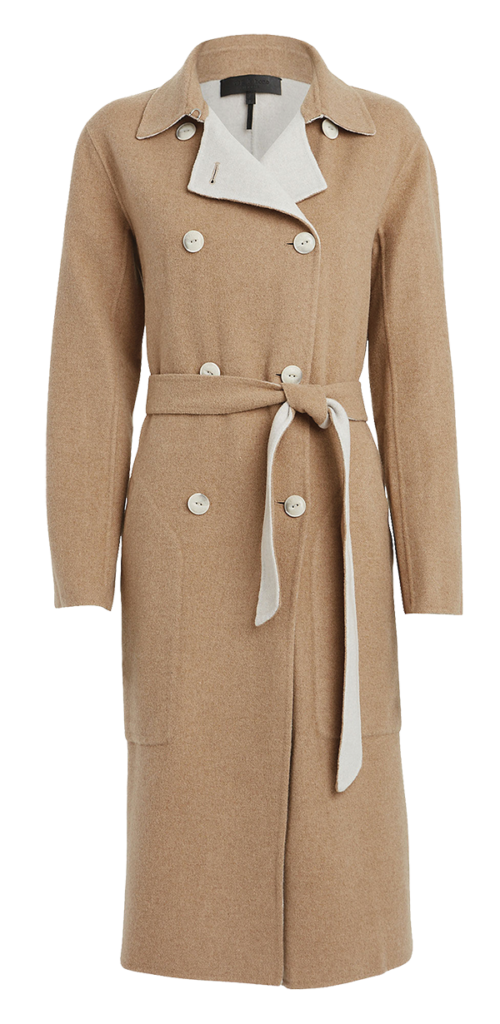 Rag & Bone wool blend reversible coat from Found Objects