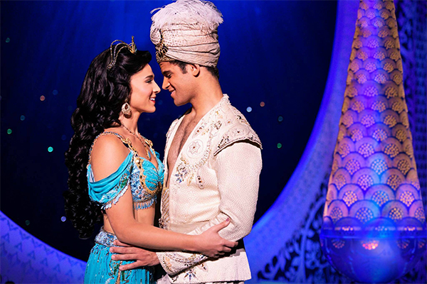 Disney's Aladdin at the Detroit Opera House