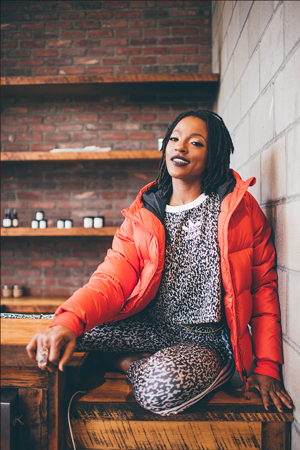 Amina Daniels founder of Live Cycle Delight