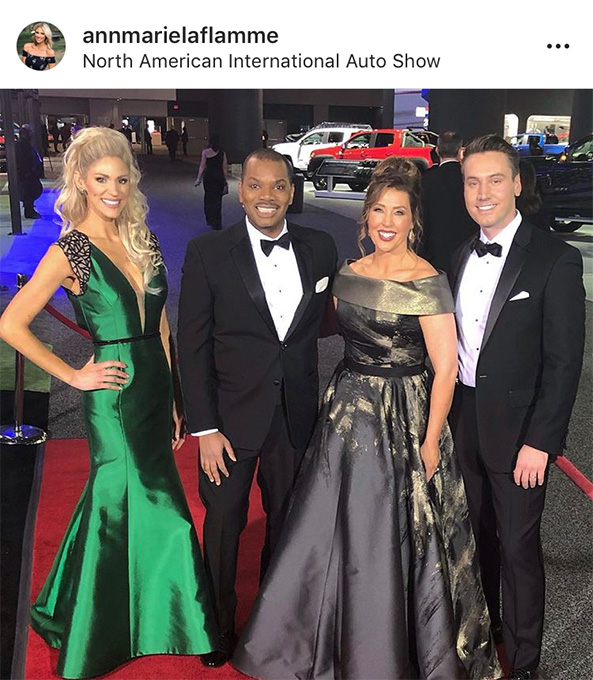 Ann Marie LaFlamme at Auto Prom 2019