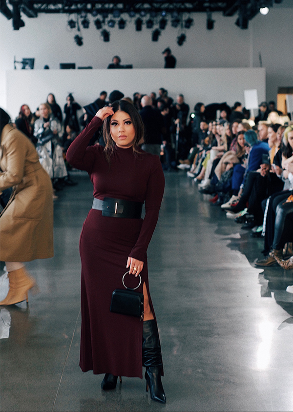 Detroit blogger Asima Khan and NYFW 2020