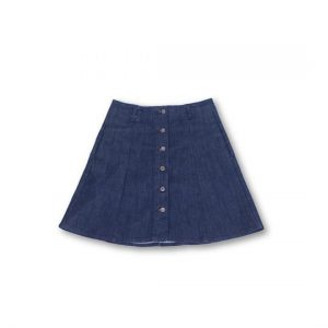 Denim Skirt- Knee Length