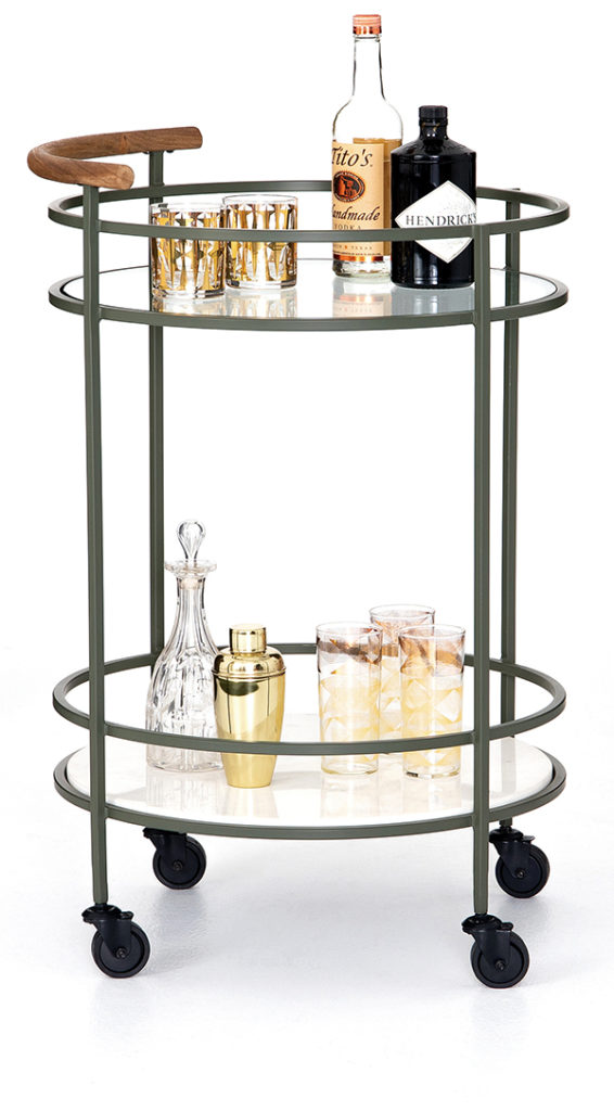 Archer bar cart from One Of a Kind