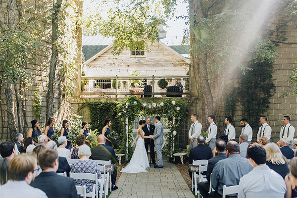 The Blue Dress Barn wedding