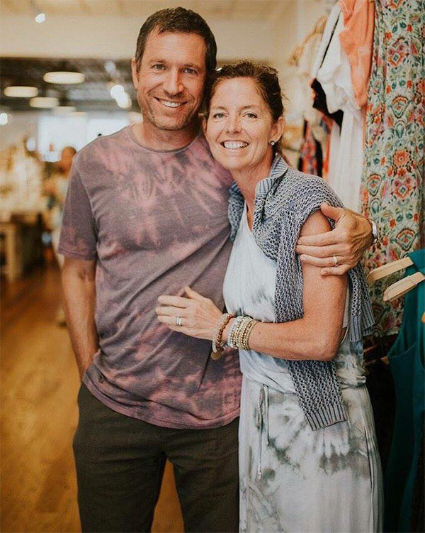 Greg Stemas and Tammy Bourque, co owners of Brightlytwisted