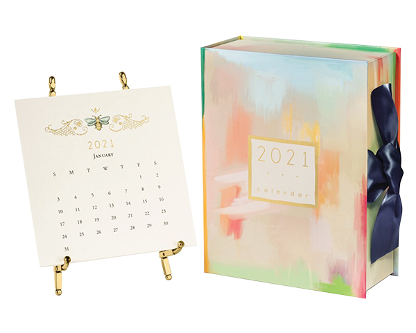 2021 calendar with easel, $64, Talulah Belle