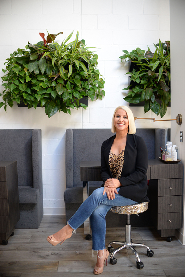 Color Box Luxury Nail & Beauty Bar Owner Kendra Geralt