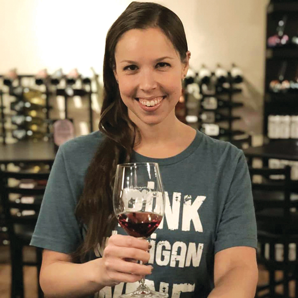 Cortney Casey, Certified sommelier and owner of Michigan By the Bottle