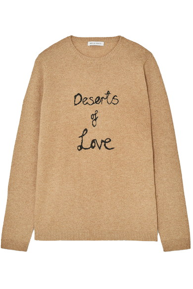 Bella Freud deserts of love sweater from SHE