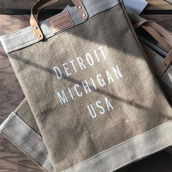Apolis Detroit tote from Good Neighbor