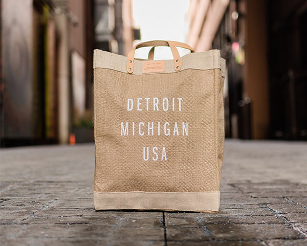 Apolis Detroit tote on SEEN Marketplace