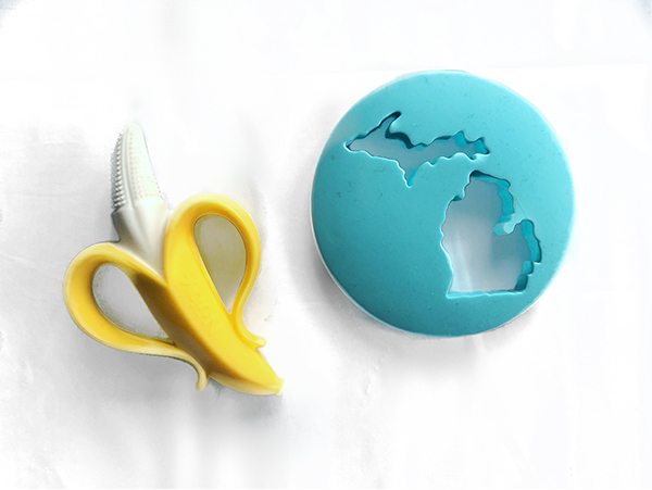 Nuby Nananubs and Freckled Fox Michigan Teether