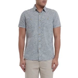 Drayton Printed Chambray Shirt