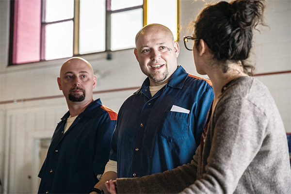 Detroit Public Theatre Shakespeare in Prison program