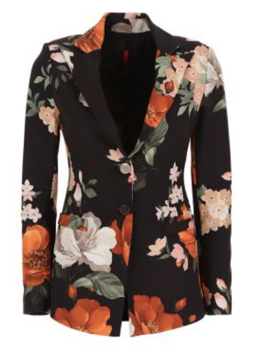 Floral Blazer from 110 Couture