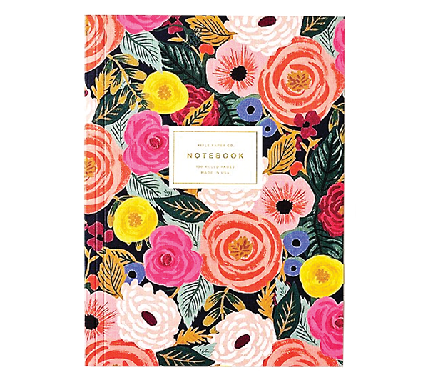 Juliet Rose journal from Paper Source
