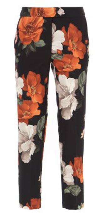 Floral pants from 110 Couture
