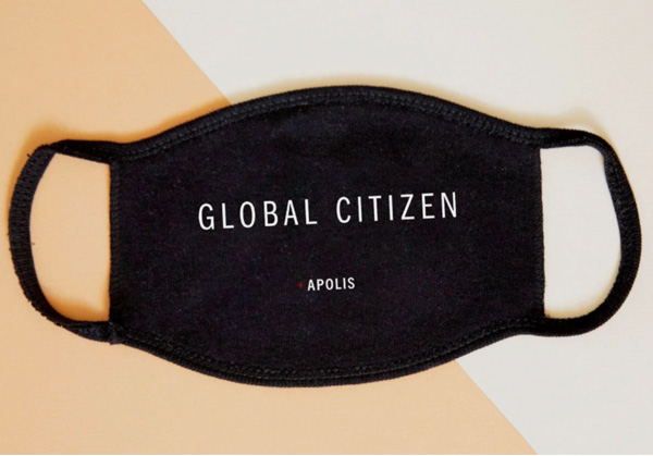 Apolis custom face mask