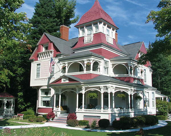 Grand Victorian Bed and Breakfast Inn in Bellaire, MI