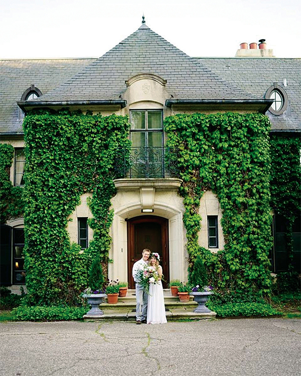 Greencrest Manor Bed and Breakfast wedding