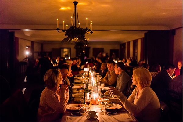 The Henry Ford's Holiday Nights dinner