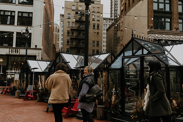 Detroit holiday markets
