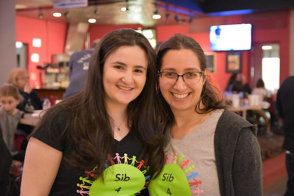 Sib4Sib founder Jessica Goldberg with Sammi Shapiro