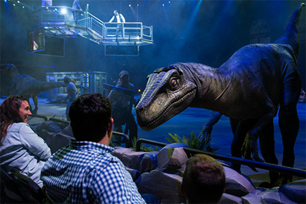 Jurassic World Live Detroit