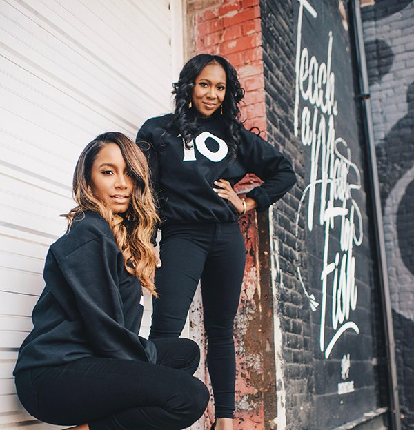 The TEN co-founders Kelli Coleman and Anika Jackson.