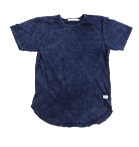 Kinetix navy hand-dyed T-shirt from Untied On Woodward