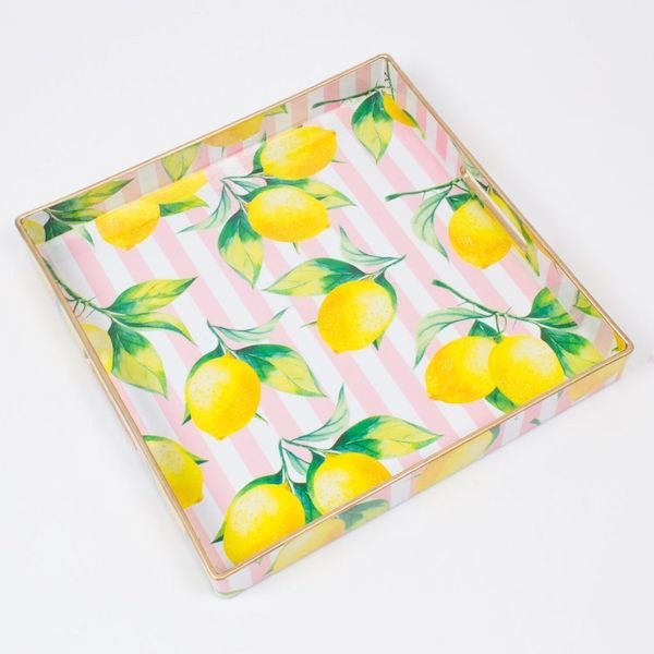 Square Lemon Tray