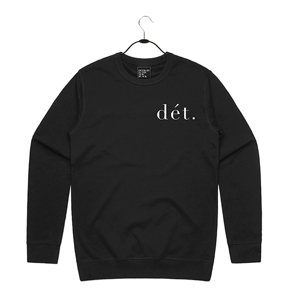 Little Dét sweatshirt, $69, Detroit is the New Black