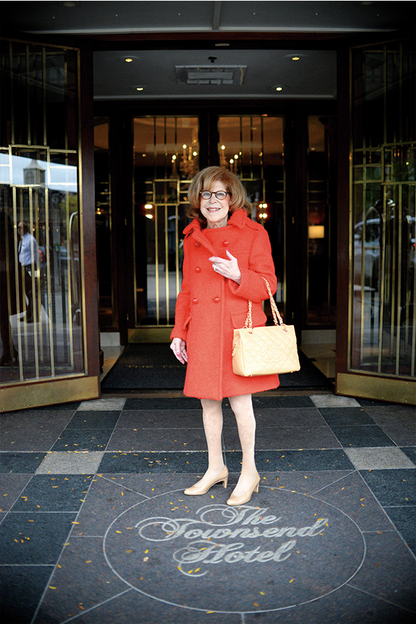 Lois Shaevsky at The Townsend Hotel