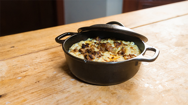 smoked gouda mac n cheese recipe by The Henry Ford's executive chef Eric Schilbe